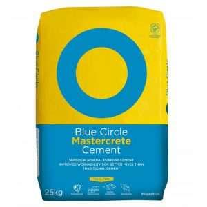 Cement in Plastic Bag