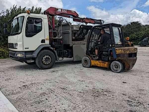 Loading haulage products