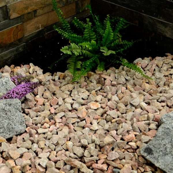 Pink Limestone Gravel